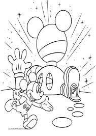 Gratis Malvorlagen Mickey Mouse Wunderhaus | My blog
