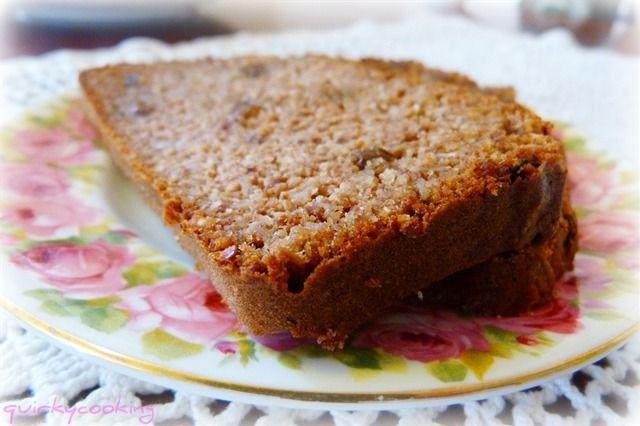 Grain Free Sultana Spice Bread