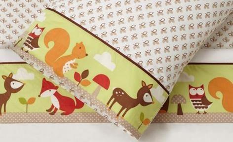 Forest Friends 3pcs Kids Sheet Set by Skip Hop