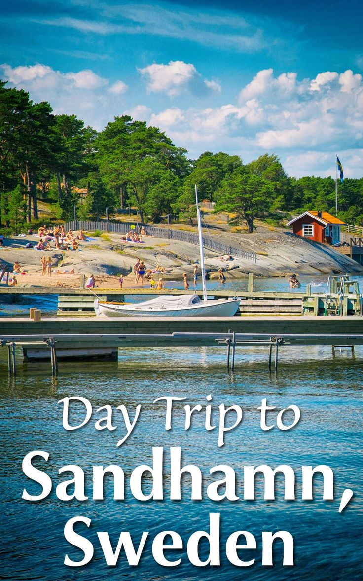 Day Trip to Sandhamn Sweden. Advice on how to get to Sandhamn from Stockholm and the best things to do in Sandhamn once you are there.