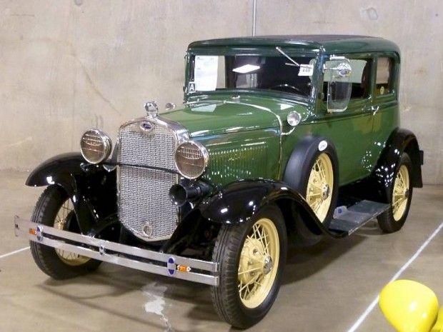 1931 Ford Model A Victoria. Maintenance/restoration of old/vintage vehicles theu2026 & 500 best Antique Cars - Ford images on Pinterest | Vintage cars ... markmcfarlin.com