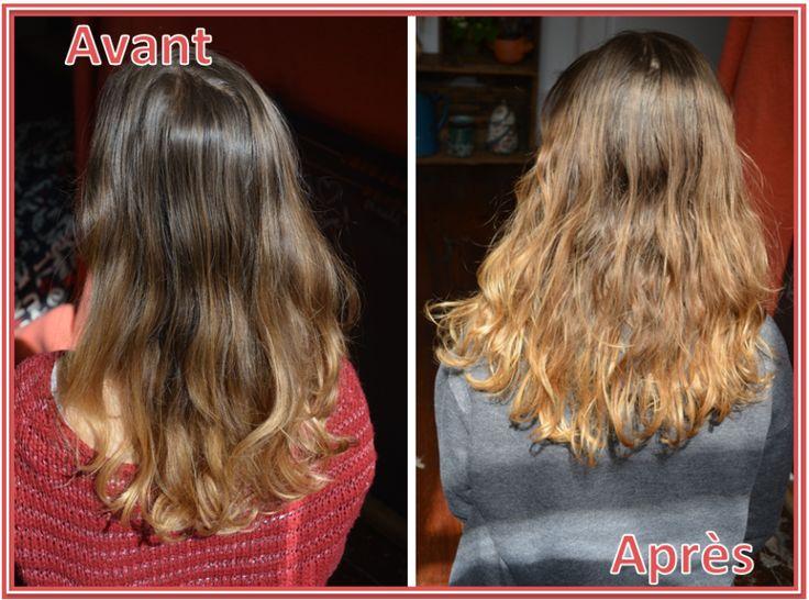 miel eclaircir cheveux avant apres dixit madame - Color Out Avant Apres