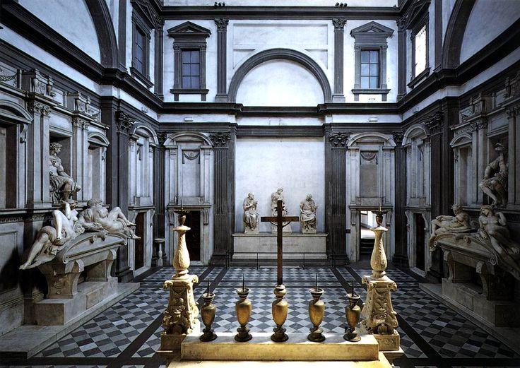 Sepulcro de los Medici. Miguel Ángel.