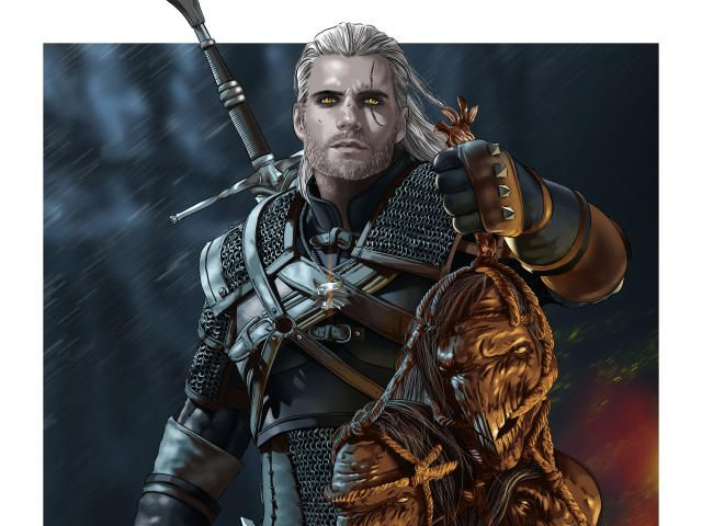 Collection Of Netflix Hd 4k Wallpapers Background Photo And Images Geralt Of Rivia The Witcher Witcher Art
