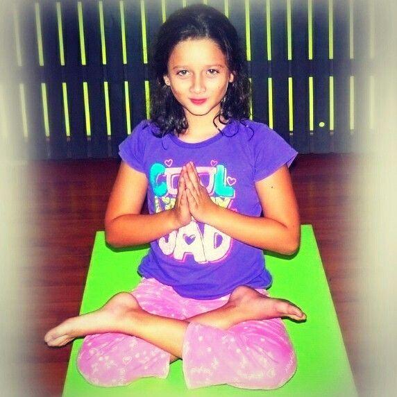 #flordeloto #yoga #kids