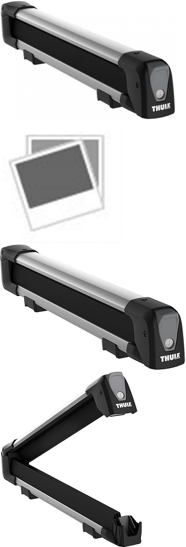Racks and carriers 21231 thule ski snowboard carrier 4 pair open box
