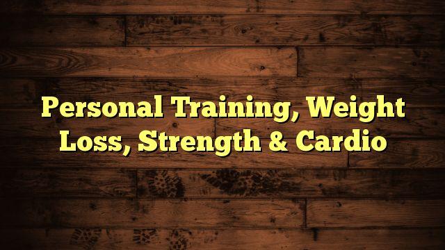 Personal Training, Weight Loss, Strength & Cardio - https://twitter.com/pdoors/status/780985816185266177