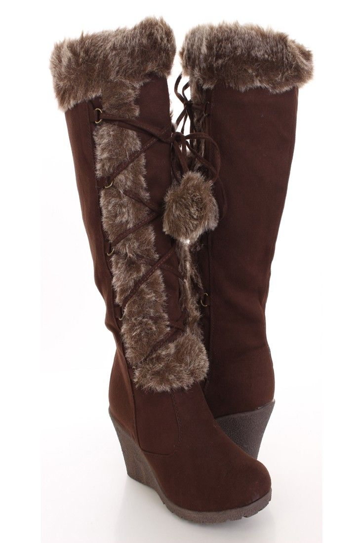 82 Best Images About Fluffy Boots★ On Pinterest