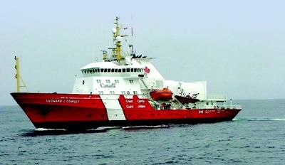Canadian Coast Guard Vessel CCGS Leonard J. Cowley