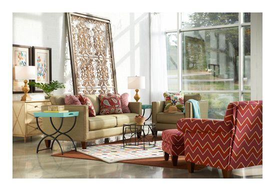 Kinsley Premier Stationary Sofa by La-Z-Boy