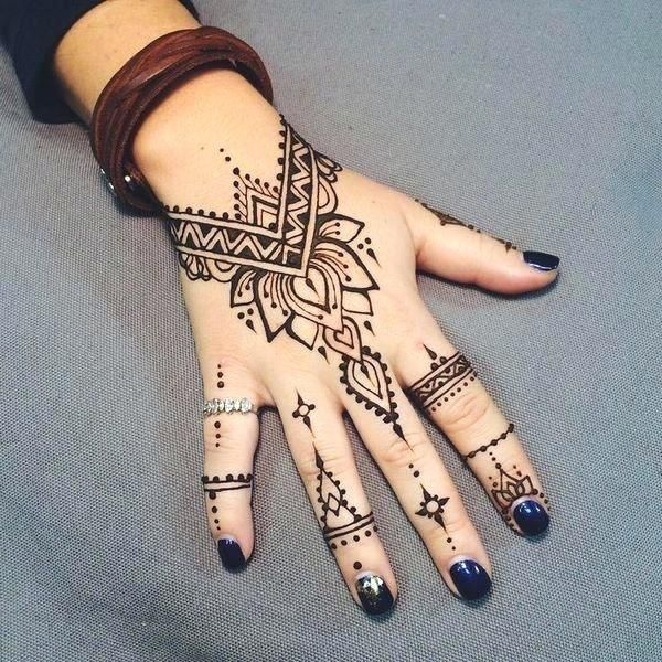 Easy Henna Designs Google Search Henna Tattoo Hand Henna