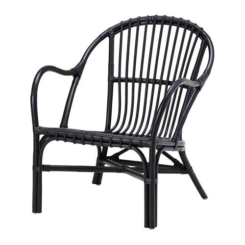 Komplement insats till stomme med fack vit black chairs armchairs and front porches - Sedie in rattan ikea ...