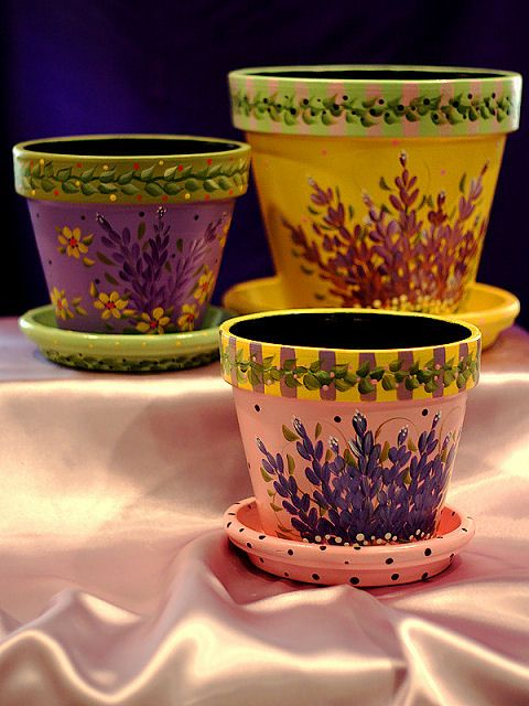 1000 ideas about painted flower pots on pinterest clay - Better homes and gardens flower pots ...