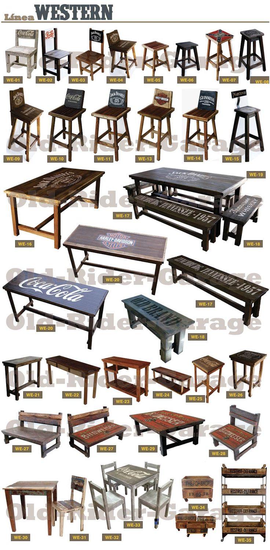 Las 25 mejores ideas sobre madera antigua en pinterest y - Muebles industriales antiguos ...