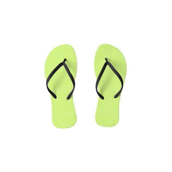 Lime Green Flip Flops ❤ liked on Polyvore featuring shoes, sandals, flip flops, lime shoes, lime green sandals, lime sandals, lime green flip flops and lime green shoes