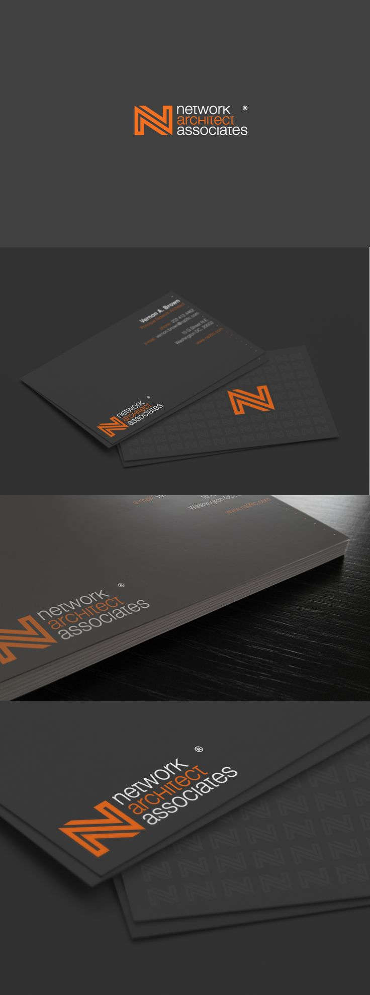 Network Architect Associates || Weekly business card design for everyone! Introducing Moire Studios a thriving website and graphic design studio. Feel Free to Follow us @moirestudiosjkt to see more outstanding pins like this. Or visit our website www.moirestudiosjkt.com to know more about us. #businessCardDesign #graphicDesign ||