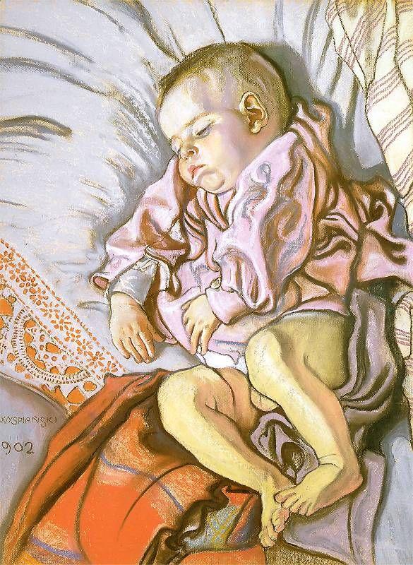 Stanisław Wyspiański, Sleeping Staś, 1902