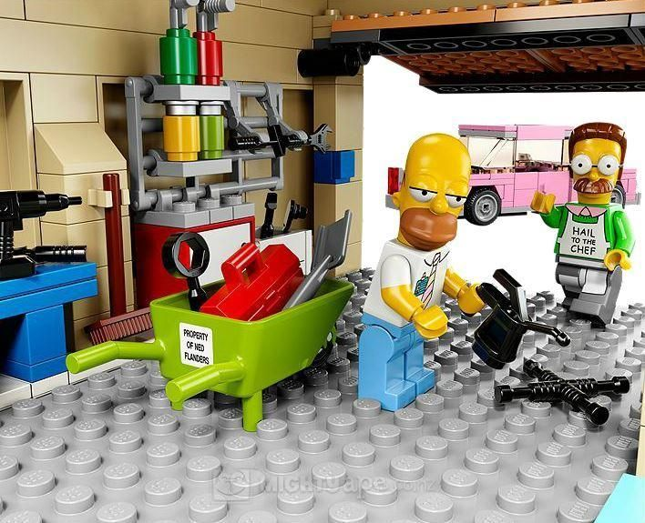 LEGO - The Simpsons House (71006) | Toy | at Mighty Ape NZ