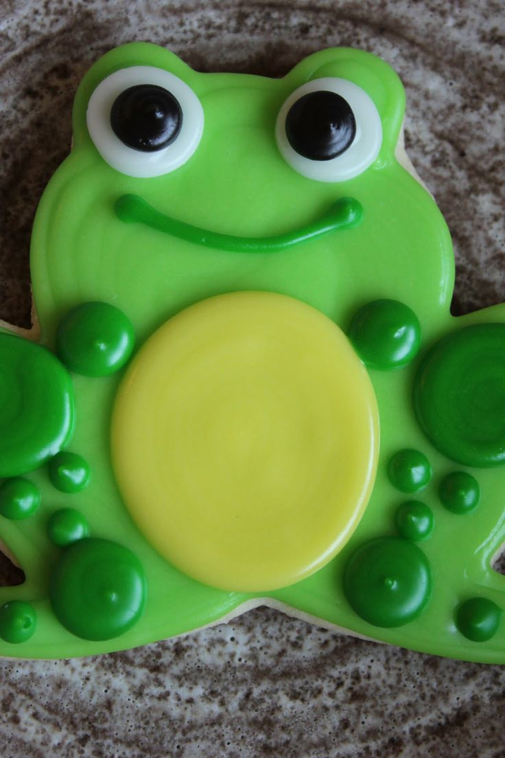 Image detail for -The Cookie Mama: Frog Cookies