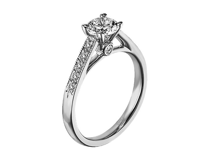 Collection: Radiance - M1162RD07 #WeddingRings #EngagementRings #DiamondRings #ScottKay #ScottKayJewelry