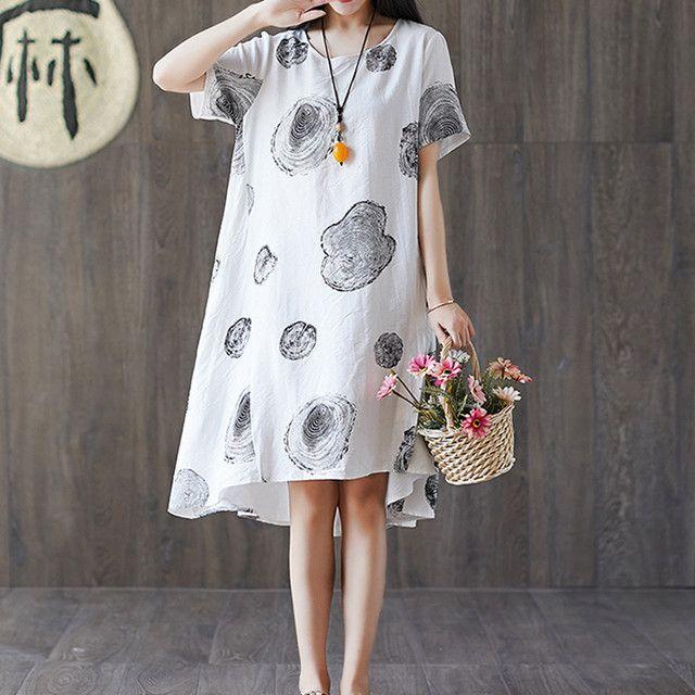 膝上ワンピース ドレス シンプル 韓国風 ゆったり 体型カバー カジュアル 通勤 通学 ホワイト レッド m l 2l 3l 2 624 ワンピース ドレス ドレス シンプル ファッションアイデア