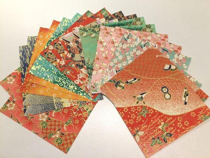 Origami Papier Faltblätter Faltpapier Bastelpapier 12.5cm Geschenkpapier paper