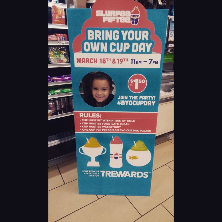 Bring your own cup today..#711 #slurpee #ohthankheavenfor711 #nationalholiday @slurpee #brainfreeze by reevesdanger