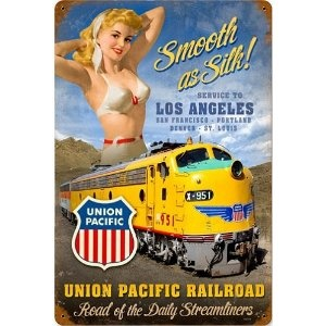 70 best sexy railroad posters images on pinterest poster for Vintage train posters
