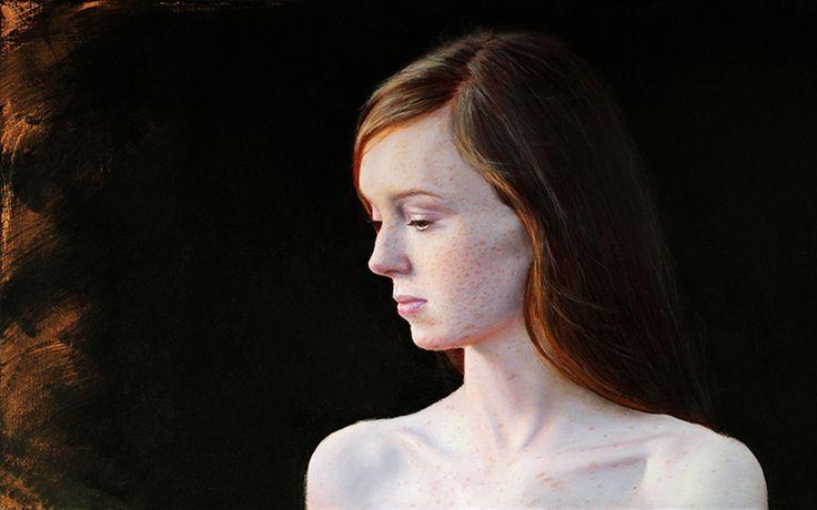 Michal Ozibko Den I. 50x80cm oil on canvas 2016