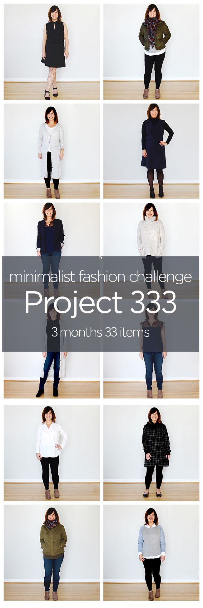 "One of my first challenges in minimalism and my ""gateway drug"" - I still have a very small wardrobe and challenge many of my friends to do Project 333!"