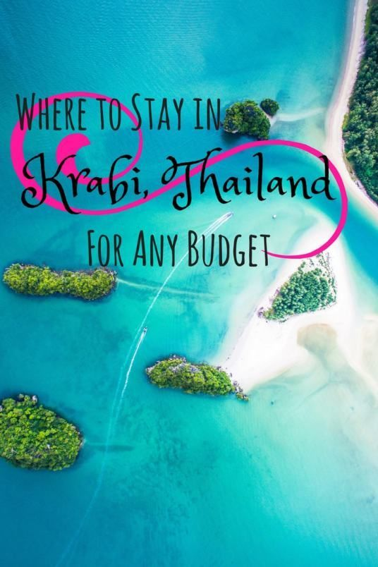 A guide to staying in Krabi, Thailand for ANY budget!