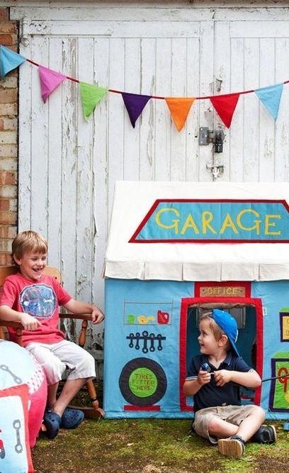 Spielhaus Garage von Win Green