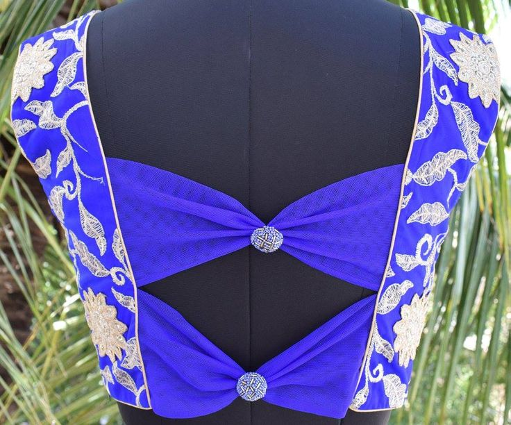 https://rangmohe.com/collections/readymade-blouses/products/vibrant-blue-saree-blouse-with-net-back  14 December 2016