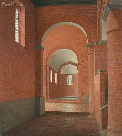 Henk Helmantel - De Zuidbeuk van de Romaanse Kloosterkerk in Jerichow