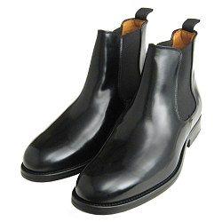 John White Shoes Chelsea II Boots Black Polished