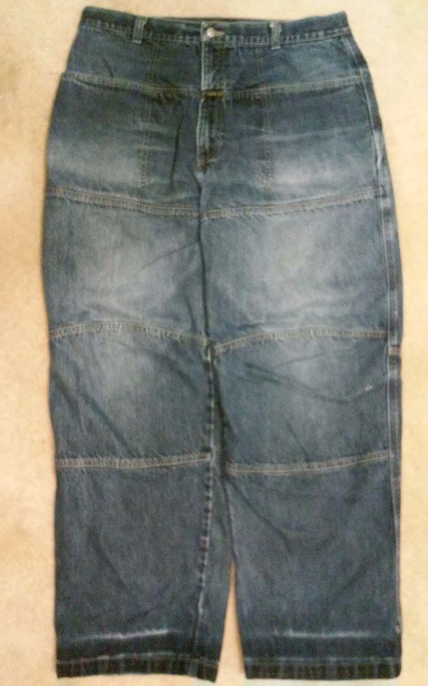 Marithe Francois Girbaud Men&39s Jeans 38 32 Plain Straight Leg