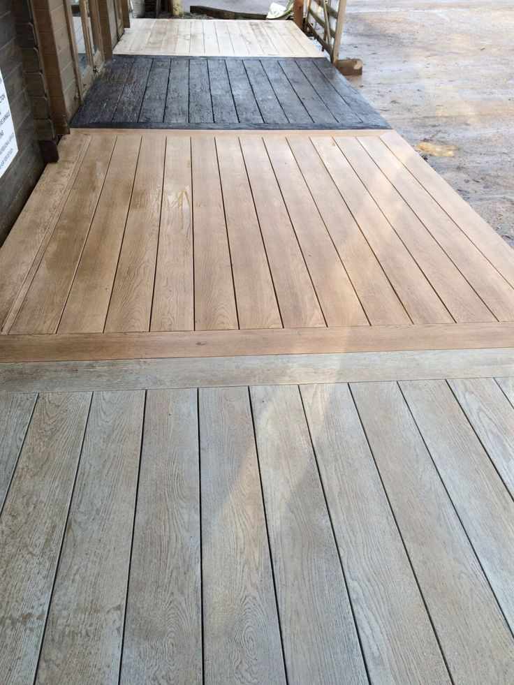 Types of Millboard decking available from London Decking Company.