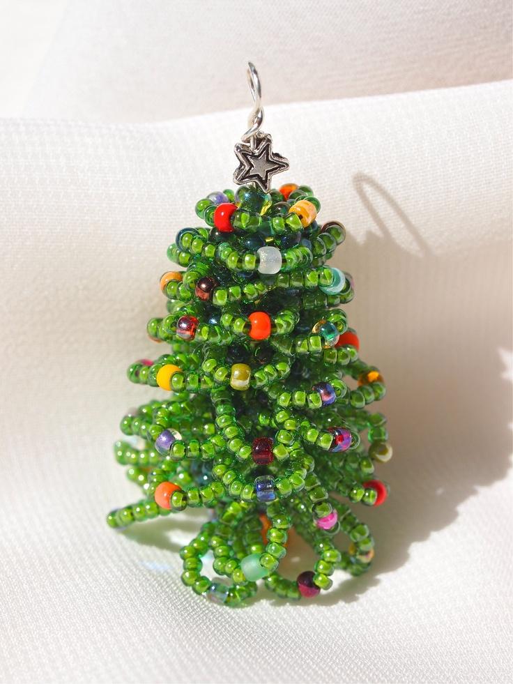 Miniature Dollhouse Christmas Trees