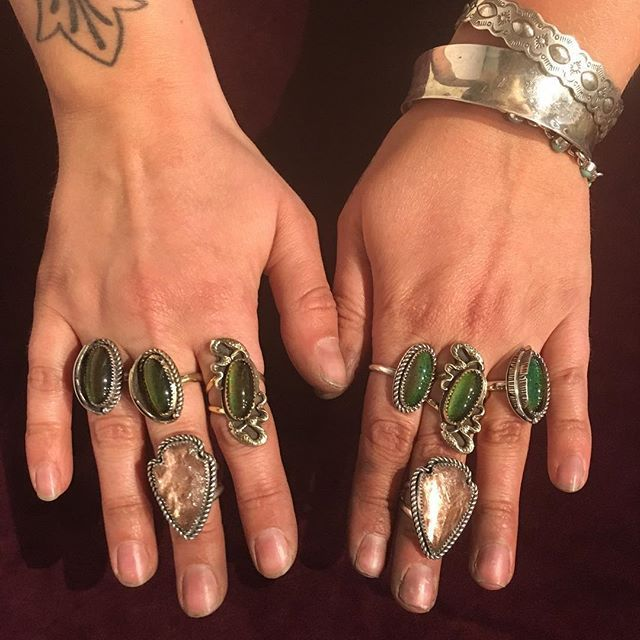 You guys, @rishjewelry did the damn thing😍🐍These babies won't last long at ICONS, come hang!