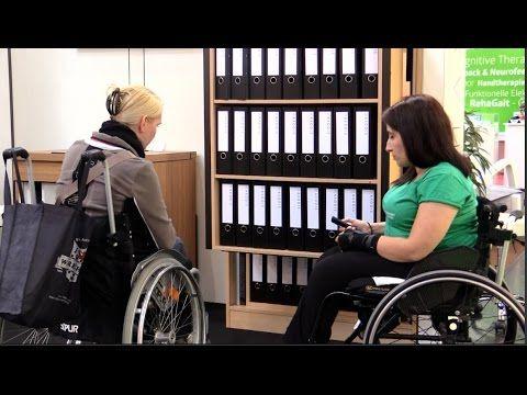 Rollstuhl Schlafen Schrank Büro Möbel - YouTube