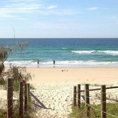 Marcoola Beach, Sunshine Coast, Australia
