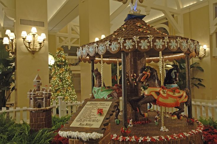 Delicious Gingerbread from Disney's Grand Floridian