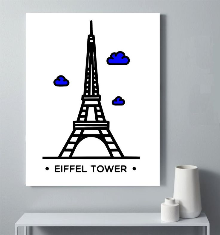 Eiffel Tower Wall Decor paris wall decor. french art print paris wall decor victorian wall