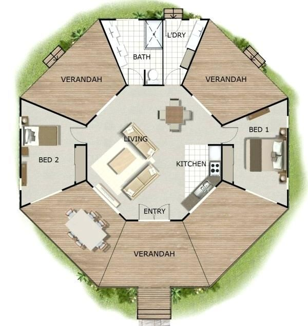 Rondavel Building Plans Rondavel Plans Round House Design Plans Luxury Free Kit Home House Plans Round H Tiny House Layout Tiny House Floor Plans Octagon House