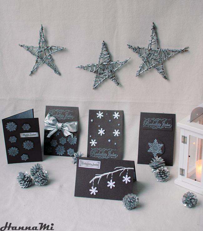 3. Luukku Helppoja ja nopeita, lastenkin kanssa tehtäviksi sopivia joulukorttien askarteluvinkkejä.