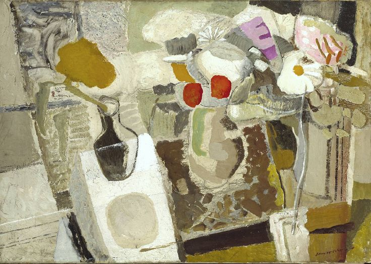 Ivon Hitchens, 'Autumn Composition, Flowers on a Table' 1932