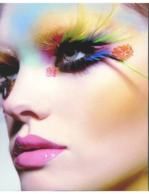 Avante garde make-up