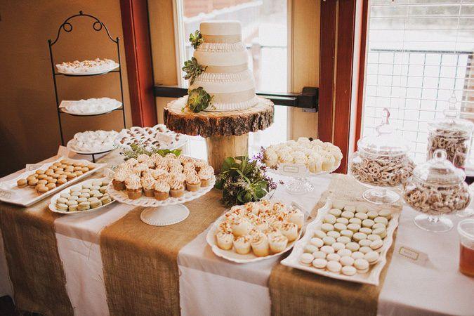Tortas de bodas: Ideas de postres más allá de la torta de bodas - LaCelebracion.com