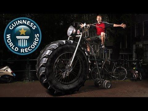 Heaviest Bike - Meet The Record Breakers - Guinness World Records - YouTube