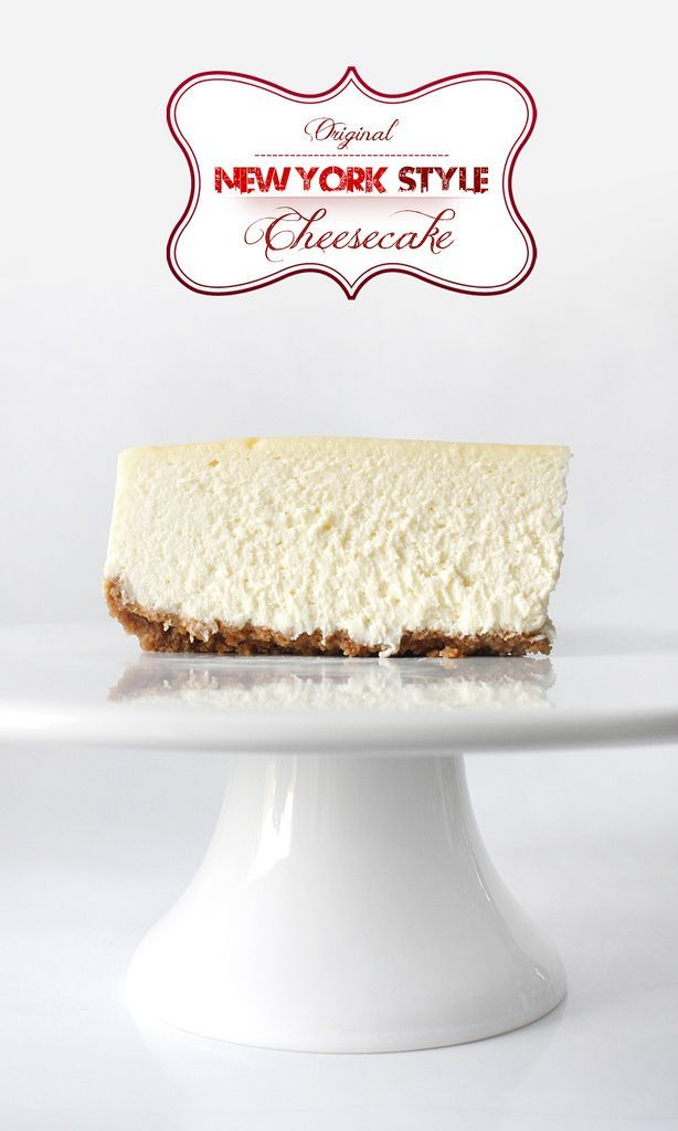 The Best Original New York Style Cheesecake! | niner bakes